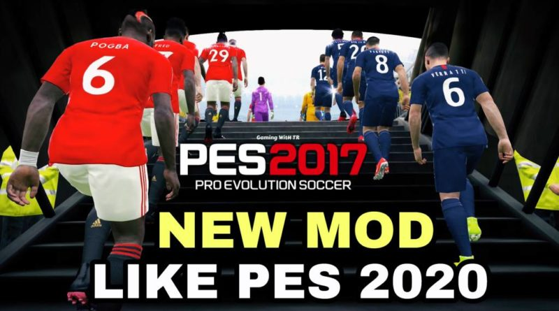 PES 2017 | NEW MOD LIKE PES 2020 | GAMEPLAY | TURF | ANIMATION | DOWNLOAD & INSTALL