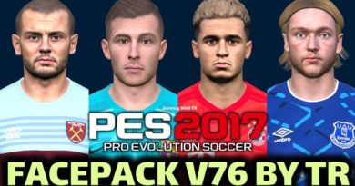 PES 2017   FACEPACK V76 BY TR   DOWNLOAD & INSTALL