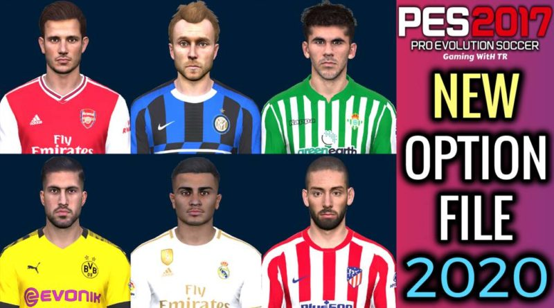 PES 2017 | NEW OPTION FILE FOR PES PROFESSION PATCH | DOWNLOAD & INSTALL