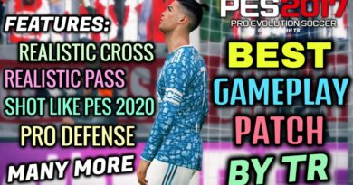 PES 2017 | BEST GAMEPLAY PATCH 2020 BY TR | DOWNLOAD & INSTALL