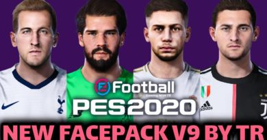 PES 2020 | NEW FACEPACK V9 BY TR | DOWNLOAD & INSTALL