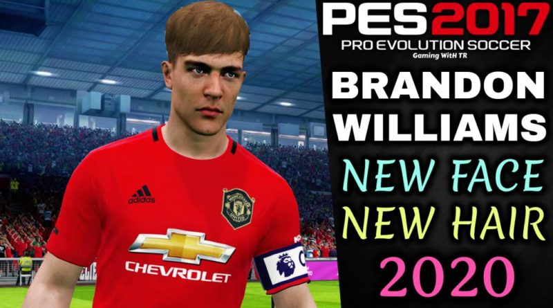 PES 2017 | BRANDON WILLIAMS | NEW FACE & NEW HAIR 2020 | DOWNLOAD & INSTALL