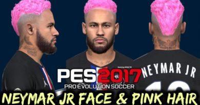PES 2017 | LATEST NEYMAR JR | FACE & PINK HAIR 2020 | DOWNLOAD & INSTALL