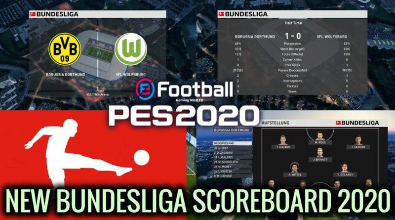 PES 2020 | NEW BUNDESLIGA SCOREBOARD 2020 | DOWNLOAD & INSTALL