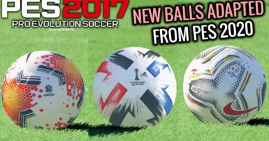 PES 2017 | NEW BALLS ADAPTED FROM PES 2020 | DOWNLOAD & INSTALL