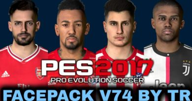PES 2017 | FACEPACK V74 BY TR | DOWNLOAD & INSTALL