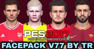 PES 2017 | FACEPACK V77 BY TR | DOWNLOAD & INSTALL