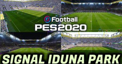 PES 2020 | NEW SIGNAL IDUNA PARK | BORUSSIA DORTMUND HOME GROUND | DOWNLOAD & INSTALL