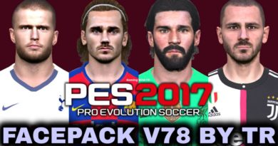 PES 2017 | FACEPACK V78 BY TR | DOWNLOAD & INSTALL