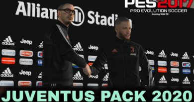 PES 2017 | JUVENTUS PRESS ROOM 2020 | MANAGER KITS | MAURIZIO SARRI FACE BY TR | DOWNLOAD & INSTALL