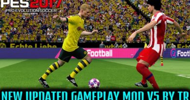 PES 2017 | NEW UPDATED GAMEPLAY MOD V5 BY TR | DOWNLOAD & INSTALL