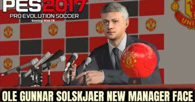 PES 2017 | OLE GUNNAR SOLSKJAER | NEW MANAGER FACE | DOWNLOAD & INSTALL
