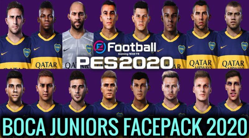PES 2020 | NEW BOCA JUNIORS MEGA FACEPACK 2020 | DOWNLOAD & INSTALL