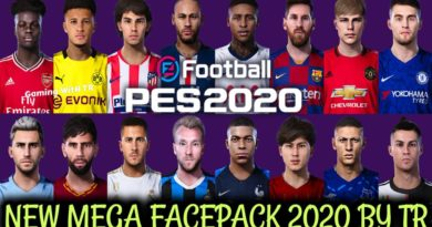 PES 2020 | NEW MEGA FACEPACK 2020 BY TR | 120+ FACES | ALL IN ONE | DOWNLOAD & INSTALL