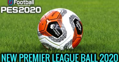 PES 2020 | NEW PREMIER LEAGUE BALL 2020 | TUNNEL VISION | DOWNLOAD & INSTALL