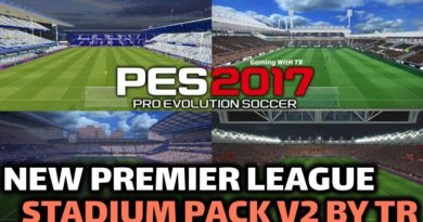 PES 2017   NEW PREMIER LEAGUE STADIUM PACK V2 BY TR   DOWNLOAD & INSTALL