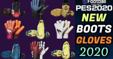 PES 2020 | NEW BOOTS & GLOVES 2020 | ALL IN ONE | DOWNLOAD & INSTALL