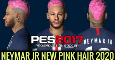 PES 2017 | NEYMAR JR | NEW FACE & NEW PINK HAIR 2020 | DOWNLOAD & INSTALL
