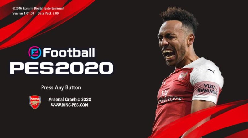 PES 2017 | ARSENAL PES 2020 GRAPHIC MENU | DOWNLOAD & INSTALL