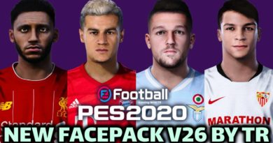 PES 2020   NEW FACEPACK V26 BY TR   DOWNLOAD & INSTALL