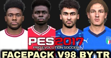 PES 2017 | FACEPACK V98 BY TR | DOWNLOAD & INSTALL