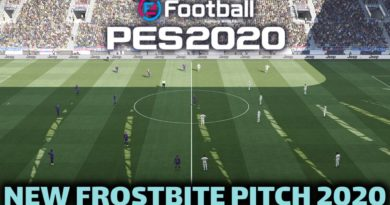 PES 2020   NEW FROSTBITE PITCH 2020   DOWNLOAD & INSTALL