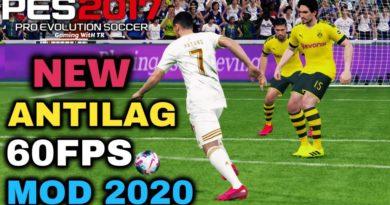 PES 2017 | NEW ANTILAG 60FPS MOD 2020 | DOWNLOAD & INSTALL