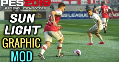 PES 2019 | NEW SUN LIGHT GRAPHIC MOD | DOWNLOAD & INSTALL
