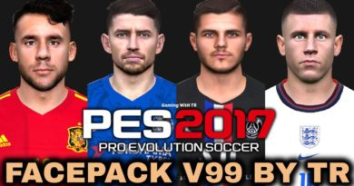 PES 2017 | FACEPACK V99 BY TR | DOWNLOAD & INSTALL