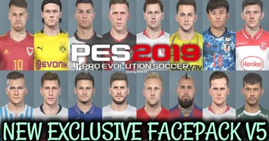 PES 2019 | NEW EXCLUSIVE FACEPACK V5 | DOWNLOAD & INSTALL