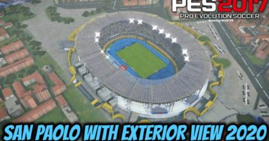 PES 2017 | NEW SAN PAOLO WITH EXTERIOR VIEW 2020 | DOWNLOAD & INSTALL