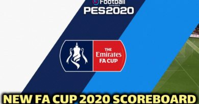 PES 2020 | NEW FA CUP 2020 SCOREBOARD | CPK VERSION | DOWNLOAD & INSTALL