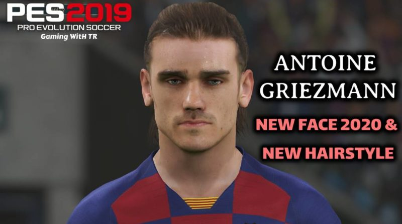 PES 2019 | ANTOINE GRIEZMANN | NEW FACE 2020 & NEW HAIRSTYLE | DOWNLOAD & INSTALL