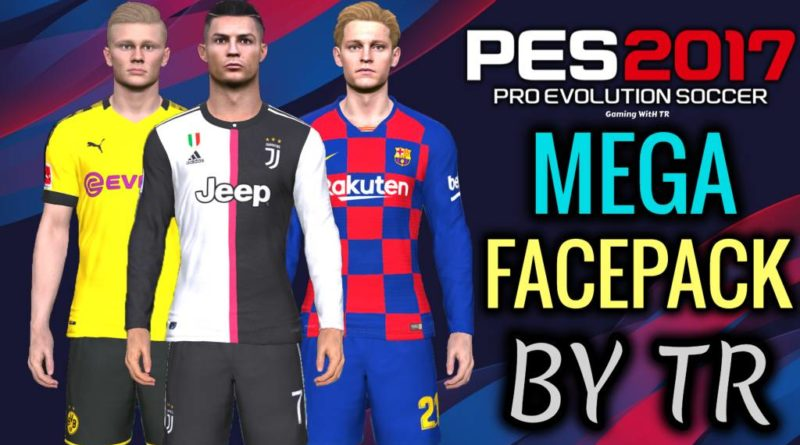 PES 2017 | BRAND NEW MEGA FACEPACK BY TR | NO CRASHING | DOWNLOAD & INSTALL