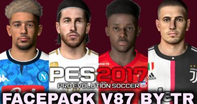 PES 2017   FACEPACK V87 BY TR   DOWNLOAD & INSTALL