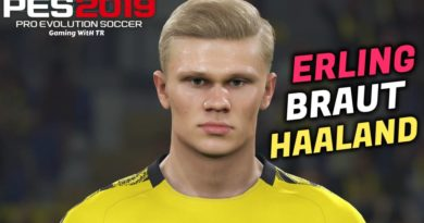 PES 2019 | ERLING BRAUT HAALAND | NEW FACE & NEW HAIR | DOWNLOAD & INSTALL