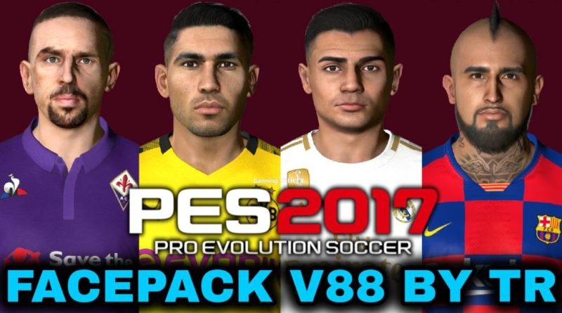 PES 2017 | FACEPACK V88 BY TR | DOWNLOAD & INSTALL
