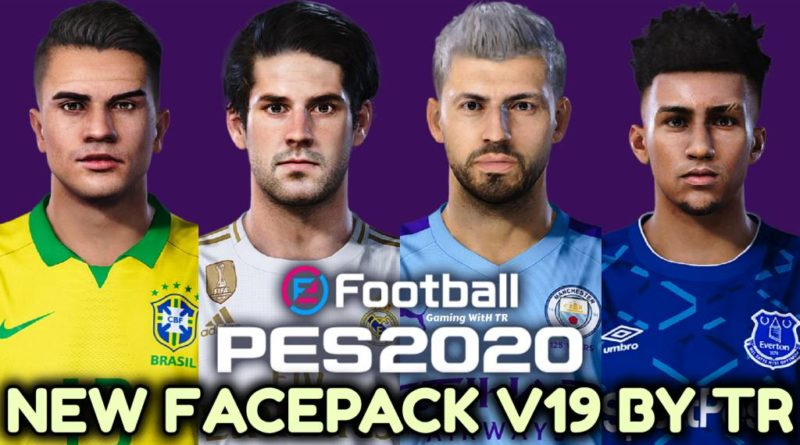 PES 2020 | NEW FACEPACK V19 BY TR | DOWNLOAD & INSTALL