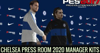 PES 2017 | CHELSEA PRESS ROOM 2020 | MANAGER KITS | DOWNLOAD & INSTALL