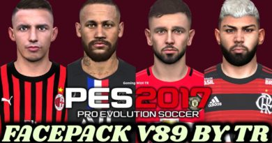 PES 2017 | FACEPACK V89 BY TR | DOWNLOAD & INSTALL