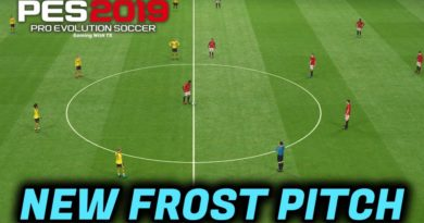 PES 2019 | NEW FROST PITCH | DOWNLOAD & INSTALL