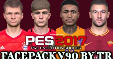 PES 2017 | FACEPACK V90 BY TR | DOWNLOAD & INSTALL