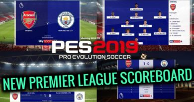 PES 2019 | NEW PREMIER LEAGUE SCOREBOARD FOR MASTER LEAGUE | CPK VERSION | DOWNLOAD & INSTALL