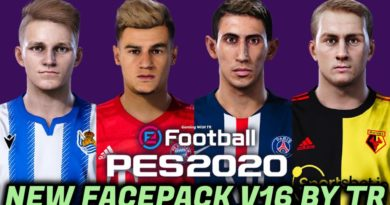 PES 2020 | NEW FACEPACK V16 BY TR | DOWNLOAD & INSTALL