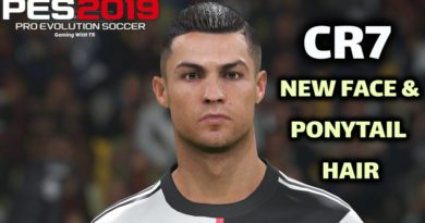 PES 2019 | CRISTIANO RONALDO | NEW FACE & PONYTAIL HAIR | DOWNLOAD & INSTALL