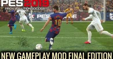 PES 2019 | NEW GAMEPLAY MOD | FINAL EDITION | DOWNLOAD & INSTALL