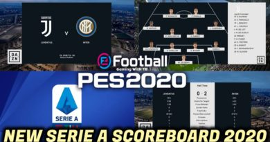 PES 2020 | NEW SERIE A SCOREBOARD 2020 | CPK VERSION | DOWNLOAD & INSTALL