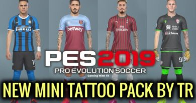 PES 2019 | NEW MINI TATTOO PACK BY TR | DOWNLOAD & INSTALL