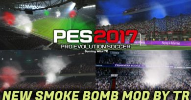 PES 2017 | NEW SMOKE BOMB MOD BY TR | DOWNLOAD & INSTALL
