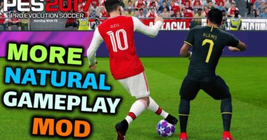 PES 2017 | MORE NATURAL GAMEPLAY MOD | DOWNLOAD & INSTALL